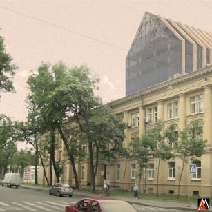 Вид с Сампсониевского проспекта 1